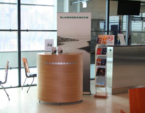 Ålandsbanken lounge-tilat